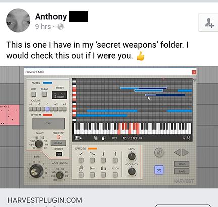 Harvest – VST MIDI Generator